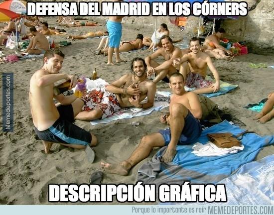 380877 - Así es la defensa del Madrid en los córners