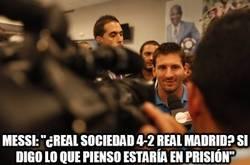 Enlace a Messi no opina sobre el Madrid