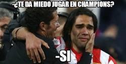 Enlace a Falcao, ¿te da miedo jugar en Champions?