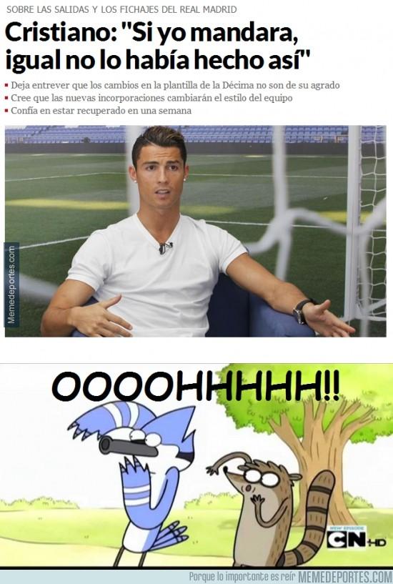 381517 - Polémicas declaraciones de Cristiano Ronaldo con recadito a Floren