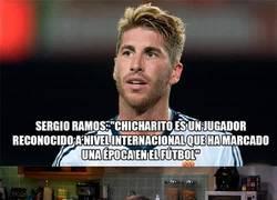 Enlace a Qué cachondo Sergio Ramos