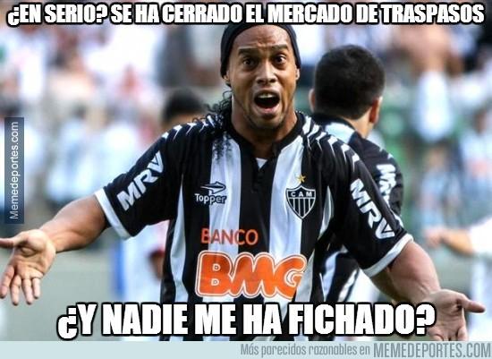 381939 - ¿Nadie ha pensado en Ronaldinho?