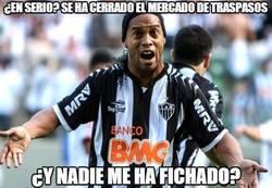 Enlace a ¿Nadie ha pensado en Ronaldinho?