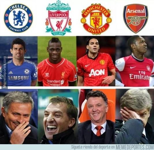 382056 - Todos contentos con sus delanteros, menos el Arsenal