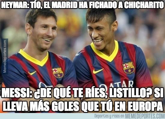 382180 - Neymar opina del fichaje de Chicharito
