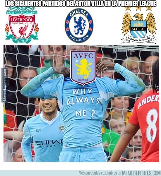 382339 - Los siguientes partidos del Aston Villa en la Premier League