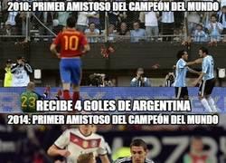 Enlace a Así recibe Argentina a los campeones del mundo