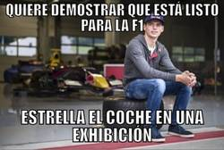 Enlace a Bad Luck Max Verstappen