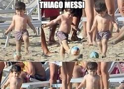 Enlace a Thiago Messi, al igual que Munir, convocado con España