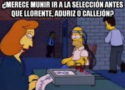 Enlace a ¿Merece Munir ir a la selección antes que Llorente, Aduriz o Callejón?