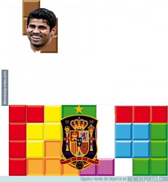 384071 - Diego Costa con la selección