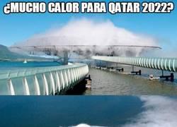 Enlace a ¿Mucho calor para Qatar 2022?