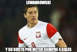 Enlace a Lewandowski le regala otro póker a Gibraltar