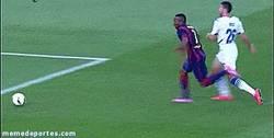 Enlace a GIF: Adama y Dongou, el futuro de can Barça. ¿Llegarán al primer equipo?