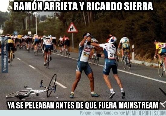 384705 - Ramón Arrieta y Ricardo Sierra ya se peleaban