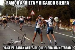 Enlace a Ramón Arrieta y Ricardo Sierra ya se peleaban