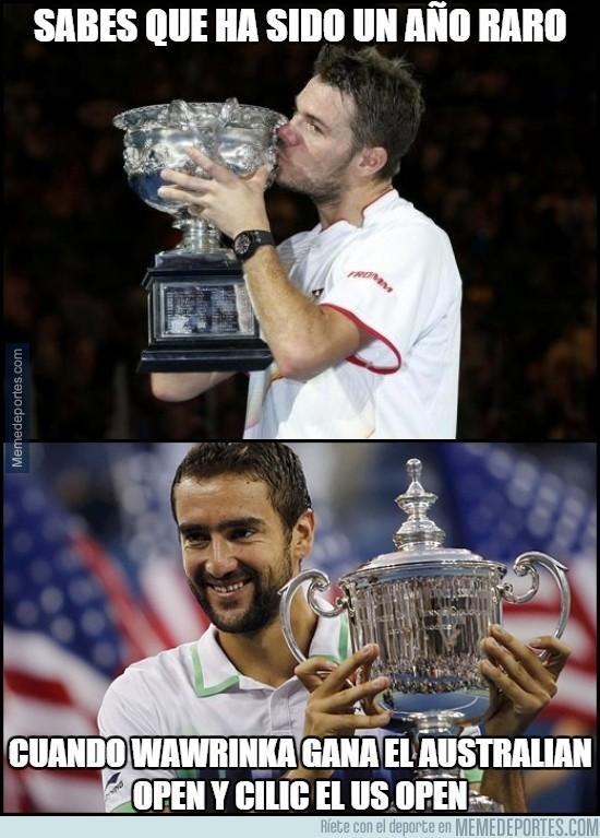 384949 - Sabes que ha sido un año raro en el tenis cuando...