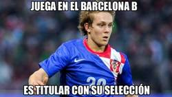 Enlace a Halilovic titular con Croacia