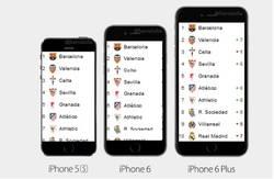 Enlace a A los madridistas les habrá gustado el nuevo iPhone 6 Plus