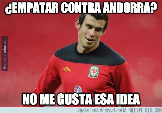 385183 - Bale se salva por los pelos, Andorra 1-2 Gales