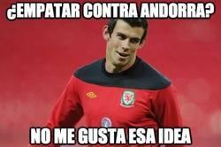 Enlace a Bale se salva por los pelos, Andorra 1-2 Gales
