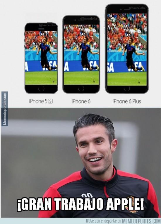 385241 - A Van Persie también le gusta el nuevo iPhone