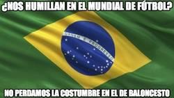 Enlace a Brasil humillado por Serbia