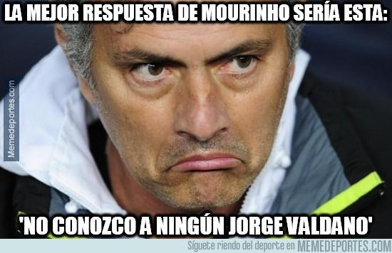 385547 - La mejor respuesta de Mourinho a Valdano sería ésta