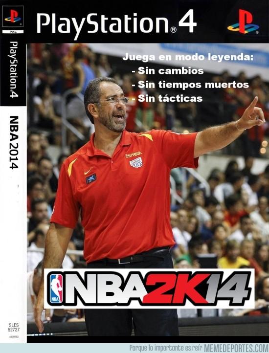 385781 - Juega en modo LEYENDA el NBA2k14
