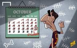 Enlace a Suárez contando los días para que llegue el clásico