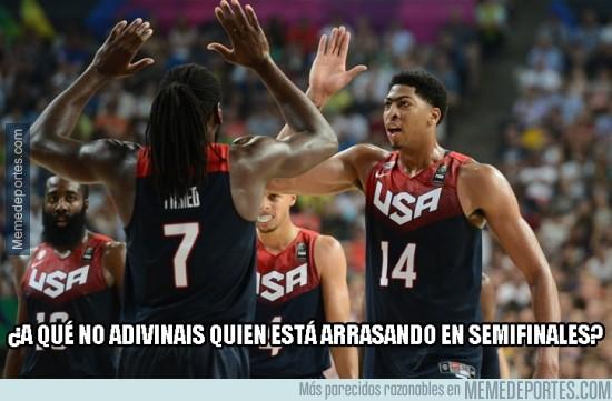 385898 - Estados Unidos arrasando en semifinales