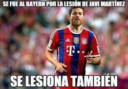Enlace a Se fue al Bayern por la lesión de Javi Martínez