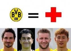 Enlace a Y con la molestia que tuvo Kagawa; así queda la lista de lesionados del Dortmund