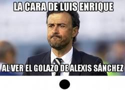 Enlace a Luis Enrique tras el golazo de Alexis Sánchez