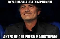 Enlace a Mourinho ya tiró la liga en septiembre
