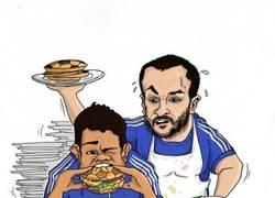 Enlace a Diego Costa y Cesc Fábregas se están hinchando