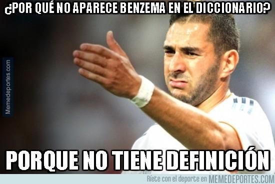 387153 - ¿Por qué no aparece Benzema en el diccionario?