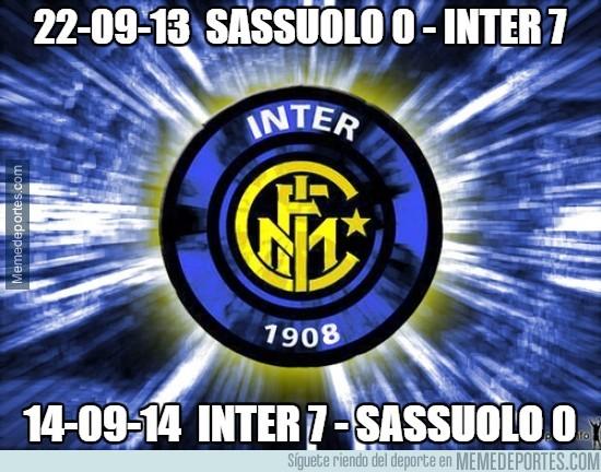 387236 - El Inter es un equipo de costumbres y de dar palizas al Sassuolo