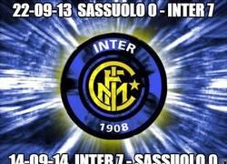 Enlace a El Inter es un equipo de costumbres y de dar palizas al Sassuolo