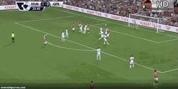 Enlace a GIF: Di María se estrena como goleador en el United