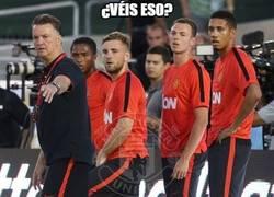 Enlace a Van Gaal ya sabe cómo hacer funcionar al United
