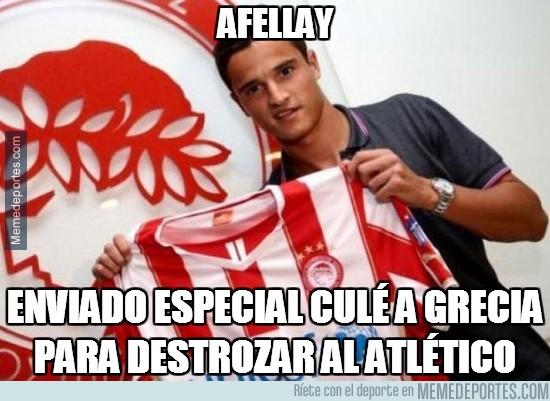 388209 - Afellay marca el segundo al Atlético