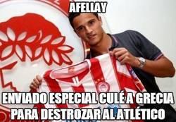Enlace a Afellay marca el segundo al Atlético