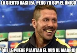 Enlace a Lo siento Basilea, pero Simeone es único en plantar bus al Madrid