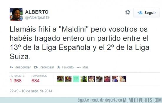 388508 - Maldini no es friki si lo comparamos con nosotros