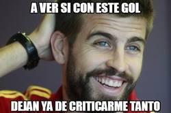 Enlace a ¡Piqué adelanta al Barça!