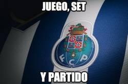 Enlace a Juego, set y partido del Oporto al Bate