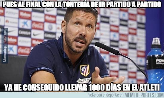 388995 - El Cholo cumple 1000 días con etl Atleti