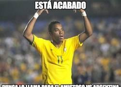 Enlace a ¿Robinho con Brasil? ¿Tan mal están?