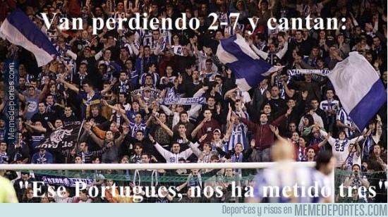 389480 - Gran afición la del Deportivo